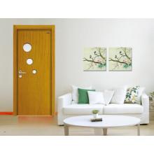 Diseño de puerta de madera venta caliente núcleo sólido panel