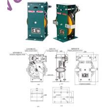 Regulador de sobrevelocidad BI-direccional para 630Kgs Elevador Elevatir de pasajeros, regulador de velocidad, componente de seguridad del ascensor