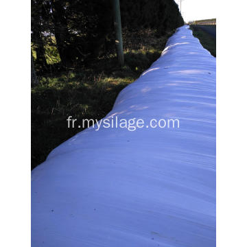 LLDPE Silage Stretch Film Largeur 750 Couleur Blanc