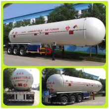 Top 3 Sale in China Big 59.52cbm LPG Semitrailer 3 Axles Trailer Truck