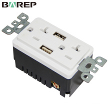 Electrical equipment supplier socket GFCI usb wall outlet