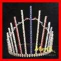 Venda Por Atacado strass Patriotic pageant tiara
