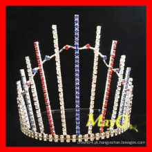 Venda Por Atacado strass Patriotic pageant tiara