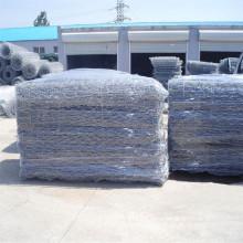 Galvanized Galfan or PVC Woven Mesh Gabions