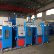 22DS(0.1-0.4) fine wire drawing machine china supplier silicone rubber extruder machine