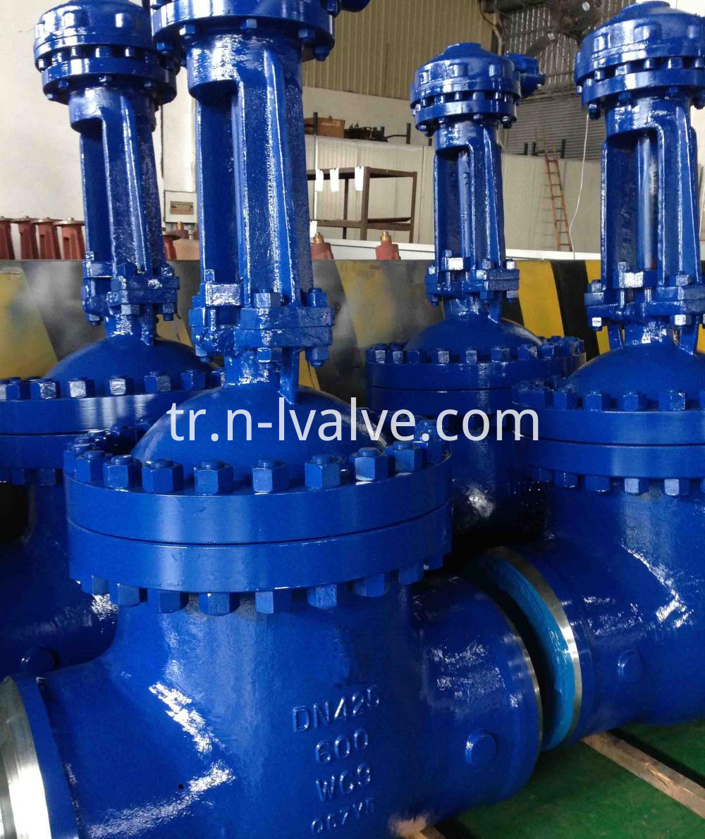 Class 600 Bolt Bonnet Casted Gate Valve