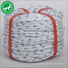 3 cordes pp corde polypropylène corde amarre
