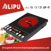 Low Price and Push Button Single Burner Infrared Ceramic Cooker Used for Any Utensil
