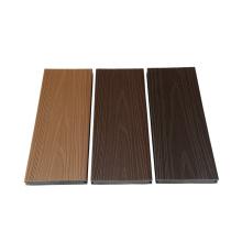 Revestimento composto plástico de madeira de Wpc 3d para o Decking do pátio