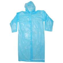 Disposable PE Long Raincoat