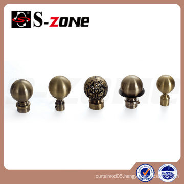 customized curtain rod accessories curtain finial design