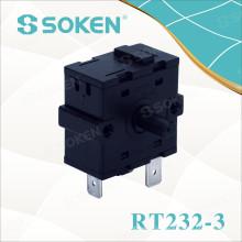 Interruptor Rotativo Aquecedor de Posição 4 Soken