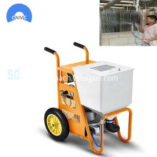 Cement mortar sprayer low noise wall putty spray