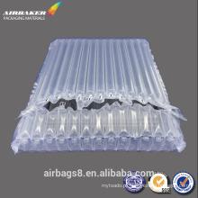 Embalagem do saco de almofada inflável plástico portátil ar coluna