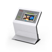 43'' Touch screen display advertising interactive information kiosk For Hospital/Bank/Shopping Mall
