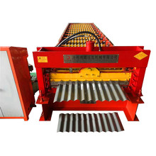 Máquina corrugada cortadora de chapa recubierta