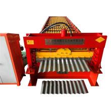 Machine ondulée de découpeuse de tôle enduite