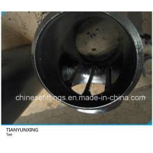 Seamless Bw Butt Weld Carbon Steel Barred Tee