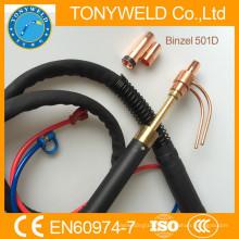 water cooled welding torch Euro torch binzel 501D torch
