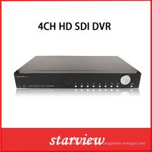 4CH 1080P en tiempo real HD-Sdi DVR Grabadora