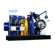 Blue Paint Oil-Free Nitrogen Helium Hydrogen Oxygen 350bar Gas Compressor