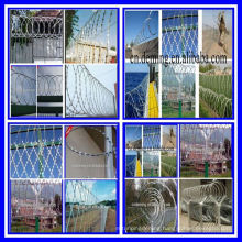 Cross type razor barbed wire mesh fence Stainless steel wire Hardware Iron caltrop High quality with good price