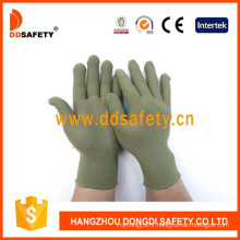 13 Gauge Bamboo Green Nylon Polyester Gloves Dch124
