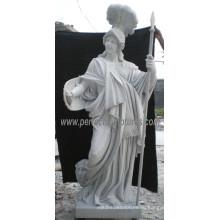 Высекая каменную статую для орнамента сада (SY-X1623)