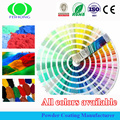 Fluoreszierende Epoxy Texture Powder Coating
