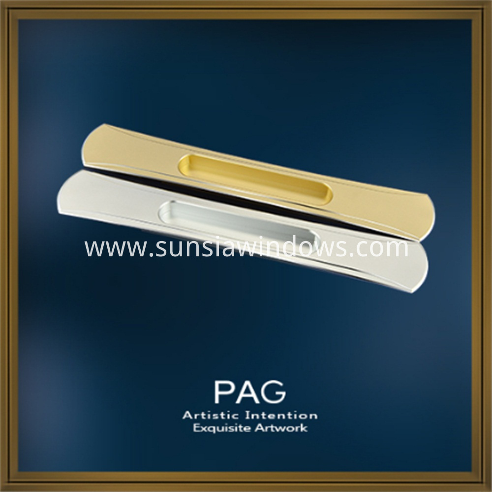Sliding Window and Door Use Luxury Concealed Handle