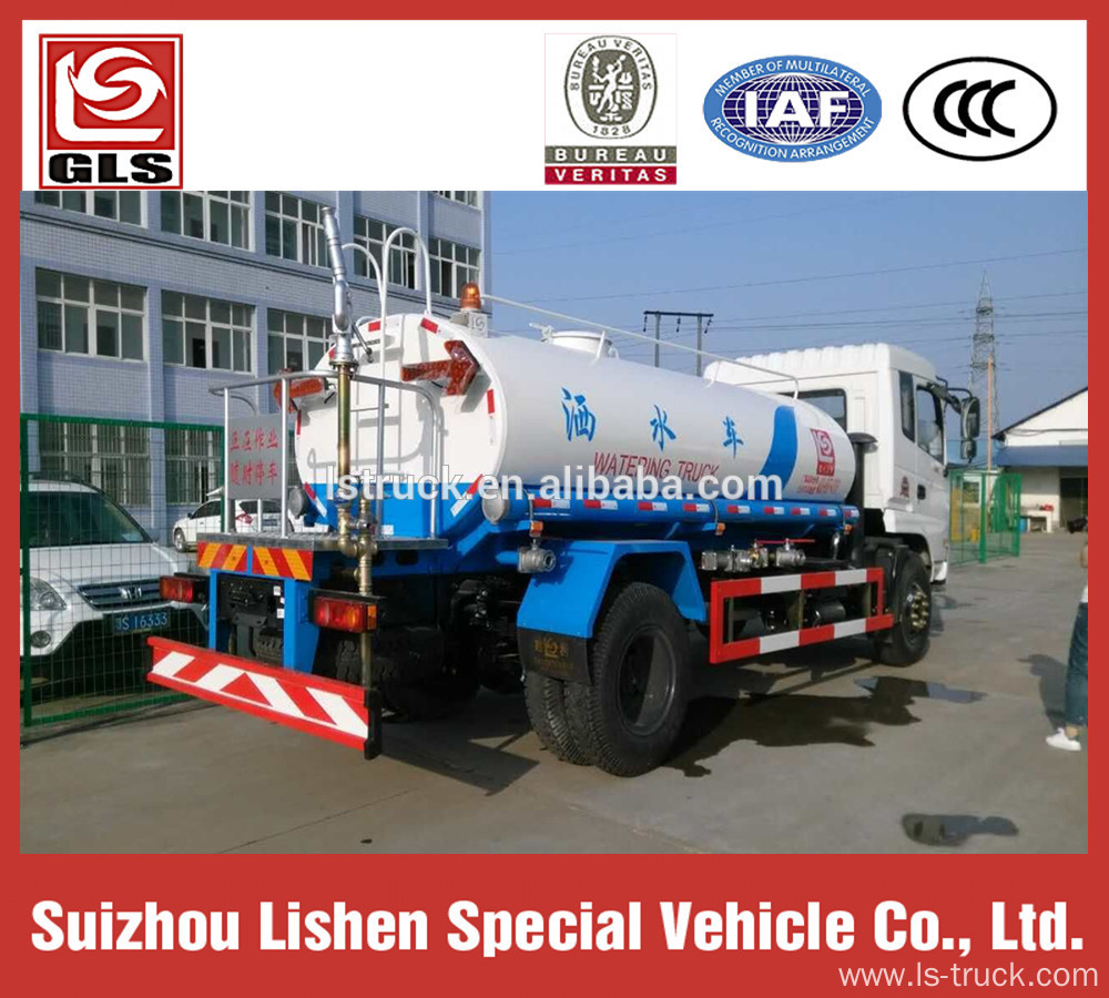 10000L Water Truck Dongfeng 10 Ton Watering Cart