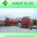 Venda quente Reciclagem de Pneus Usados / Plásticos Em Óleo Combustível / Óleo de Forno