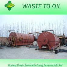 Lab unique évaluant la qualité de l'huile 3/5/10 / 20T ferraille / déchets de pneus / plastique / raffinerie d'huile moteur à diesel sans mauvaise odeur