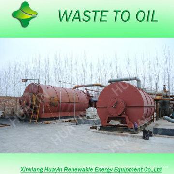Синьсян в Хуайин переработки отработанных моторных масел в дизельное топливо линия в Казахстане/Бирма/Индия