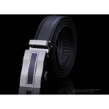 Automative buckle mens leather belts