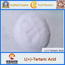 L + ácido tartárico / Dl + ácido tartárico precio de la categoría alimenticia
