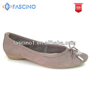 Leather fur lined shoes women