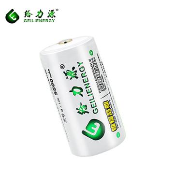 Batería recargable ni-cd d 5000mah de la fábrica de Guangzhou 1.2V tamaño de la batería