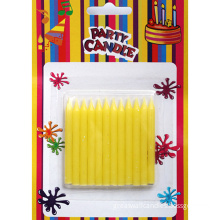 Yellow Glitter Candle Cake Candles (SFC0035)