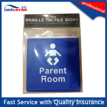 Australian Standard Braille Tactile Sign