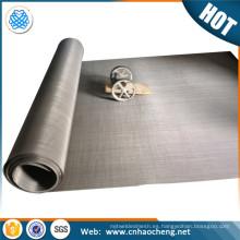 1 5 10 50 100 200 400 500 800 micras malla de filtro de acero inoxidable