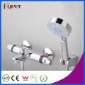Mezclador termostático de la ducha del sistema solar de la venta caliente de Fyeer con el desviador