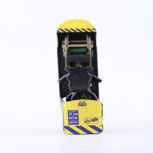 4 em 1 conjunto 25 MM / 680 KG / 1500LBS placa de plástico veículo cinturão cinto