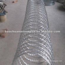 CBT-65 galvanizado Scraper tipo afeitado alambre de púas para la protección con precio razonable en tienda (proveedor)