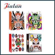 Peking Opera Makeup 190g Papel Revestido Wholesales Paper Shopping Bag
