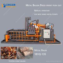 Manual Metal Baler for Copper