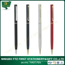 2015 Günstige Cross Slim Und Thin Metal Hotel Custom Pen Werbeartikel