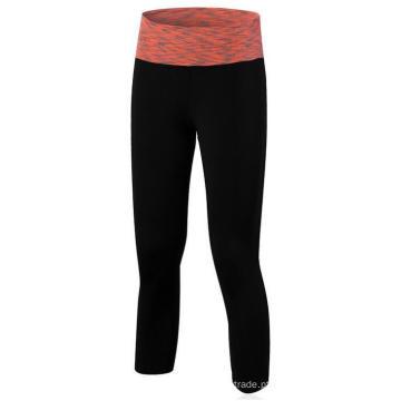 Mulheres Leggings 3/4 Calças Ginásio Workouts Running Yoga Training