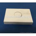 Tijolo cerâmico refratário da telha da placa da soldadura da fornalha de alta temperatura com furo