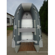 Ce PVC Hull Material Folding Inflatable Sport Boat